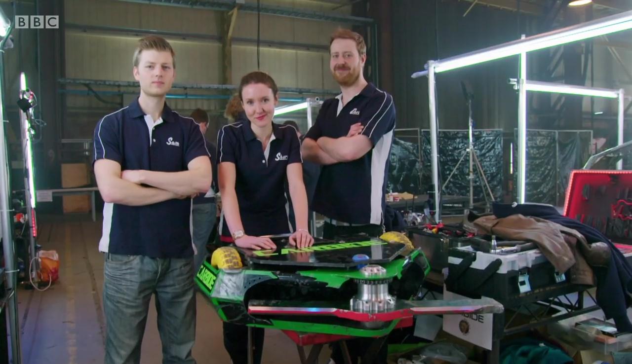 How Much Is A Car Paint Job >> Robot Wars UK: S8 E1 - BattleBots Update