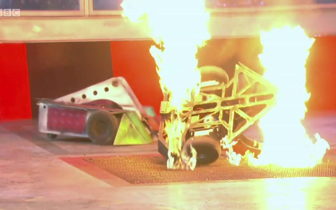 "Robot Wars ""Battle of the Stars"" – Episode 2"